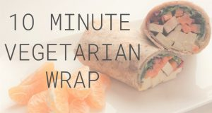 VEGETARIAN WRAP Recipes – 10 minute lunch idea for WINTER
