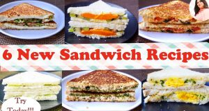 6 Best Sandwich Recipes, New Easy & Healthy Sandwich recipes for kids In 5 Min, breakfast/ lunch box