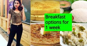 INDIAN BREAKFAST FOR WEIGHT LOSS for a week  | 7 HEALTHY BREAKFAST IDEAS
