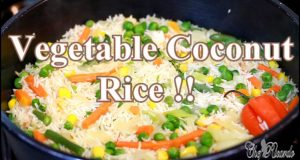 Vegetable Coconut Rice Sunday Dinner (Jamaican Cooking) | Recipes By Chef Ricardo