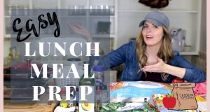 How To Meal Prep For The Week | Vegetarian Lunch Meal Prep | Easy Lunch Meal Prep Plan