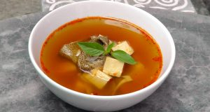 Thai Tom Yum Soup   Vegan Vegetarian Recipe