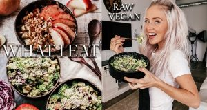 what i eat raw vegan | full recipes | kate flowers