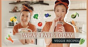 WHAT I ATE TODAY | VEGGIE RECIPES!!