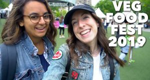 WHAT WE ATE AT VEG FOOD FEST 2019 | Tacos, Vegan Pop-Tarts, and Mystery Meat