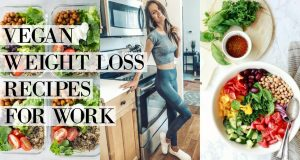 3 VEGAN WEIGHT LOSS RECIPES FOR WORK LUNCHES! // oil-free, gluten-free