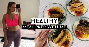 WEIGHT LOSS MEAL PREP WITH ME! Vegan & Healthy