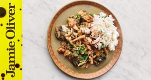 How to Make Mushroom Stroganoff | Jamie Oliver | VEG