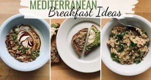 MEDITERRANEAN DIET BREAKFAST RECIPES (plant-based breakfast ideas)