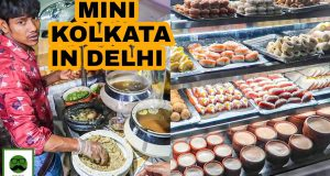 Mini Kolkata in Delhi | CR Park Street Food Tour | Dilli ki Sardi EP 04 | Veggiepaaji