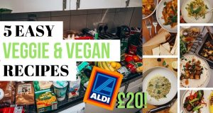 £20 WEEKLY FOOD SHOP | 5 EASY VEGAN & VEGETARIAN RECIPES ON A BUDGET | VEGANUARY