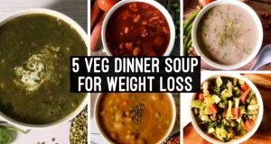 5 Healthy Veg Dinner Soup | Easy Dinner Recipes for Weight Loss | Meal Ideas to Lose weight | Hindi