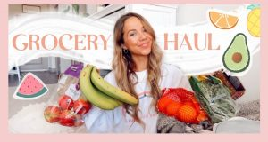 GROCERY HAUL | Buying healthy + vegetarian food from Walmart! ✨